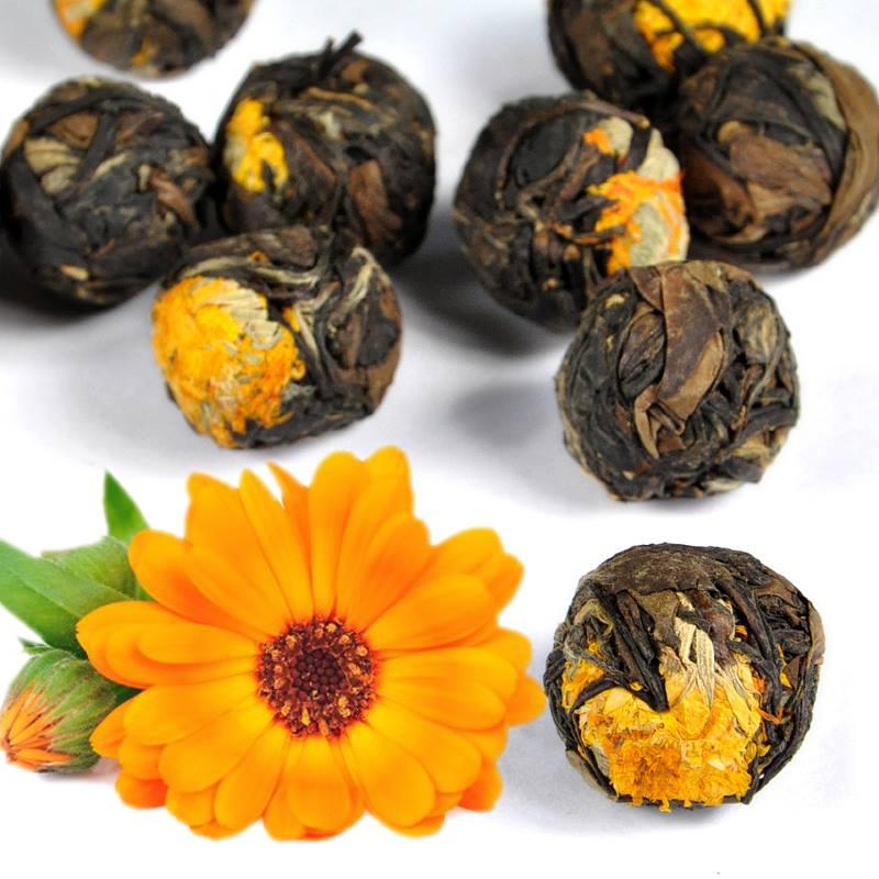 Marigold White Peony čaj - TEA TIME ONE