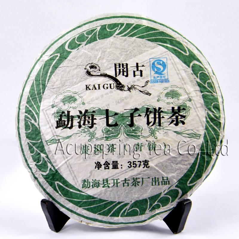 Raw Puerh čaj Menghai Kaige - TEA TIME ONE