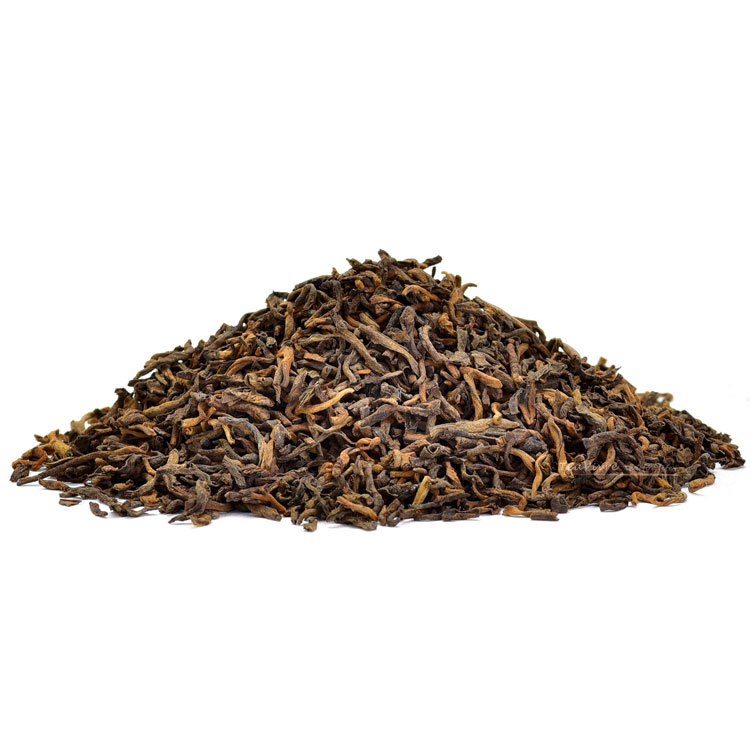 ripened aged loose pu-erh caj - tea time one
